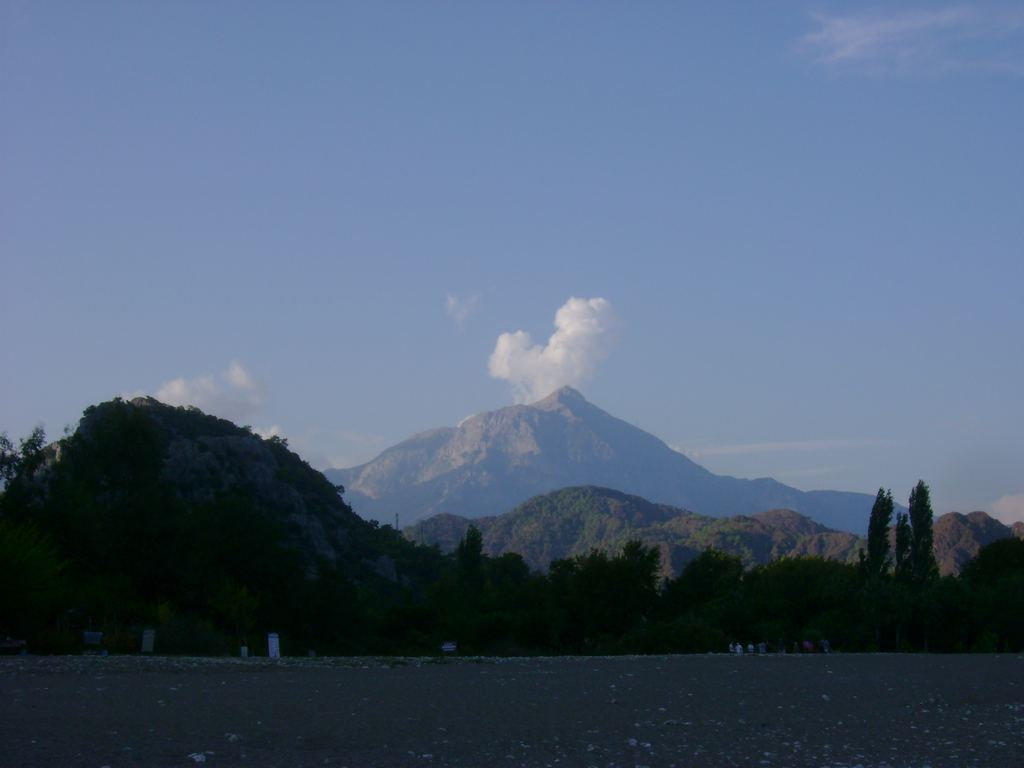 Mount Olympus (Turkish: Tahtalı Dağı), Antalya, Turkey