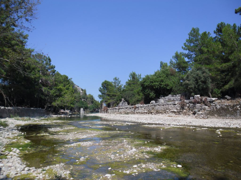 The ancient city of Olympos - 2012, Antalya, Turkey - 06