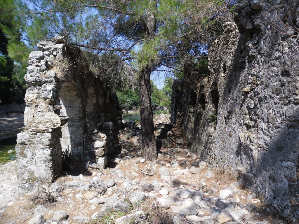 The ancient city of Olympos - 2012, Antalya, Turkey - 17