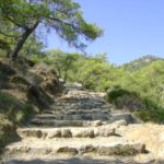 Stairway to the Chimera (burning stones) - Antalya, Turkey