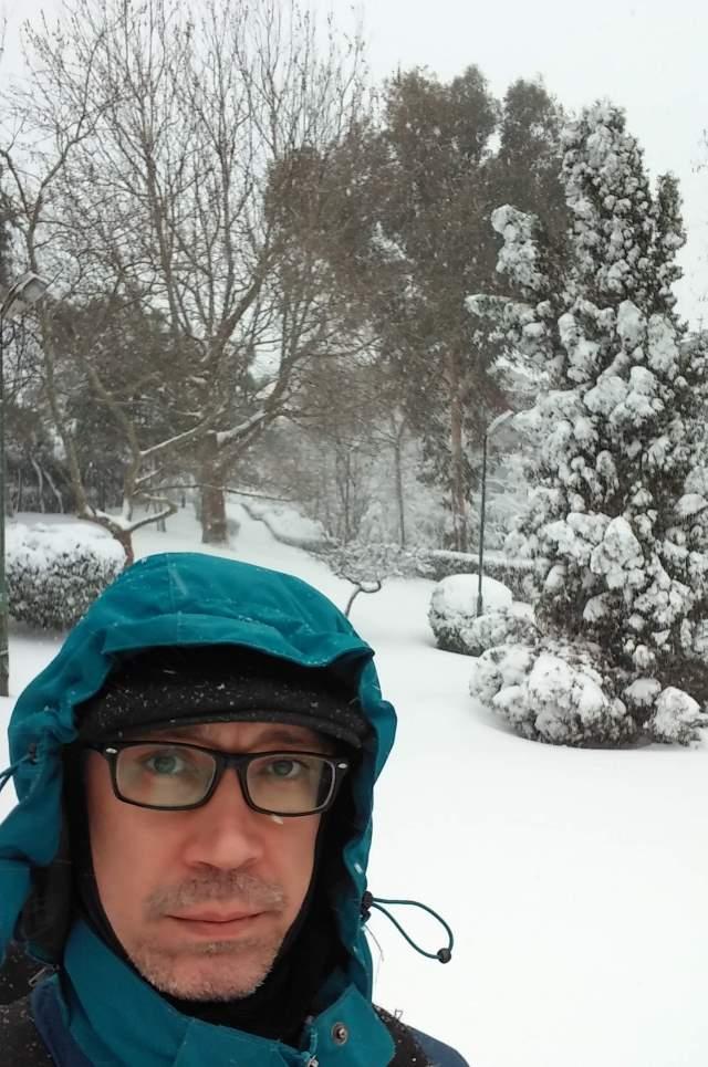 Heavy snow in Istanbul